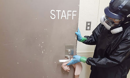 消毒・除菌で安心清潔な空間を